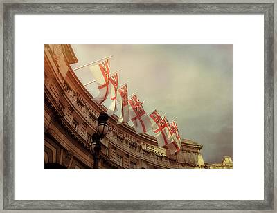 Flags Of London Framed Print by JAMART Photography