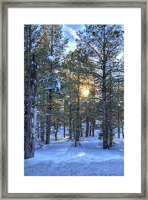 Flagstaff Sunset Framed Print by Kelly Wade