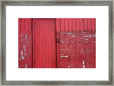 Flaked 3 Framed Print by Jez C Self