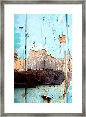 Flaked Framed Print by Jez C Self