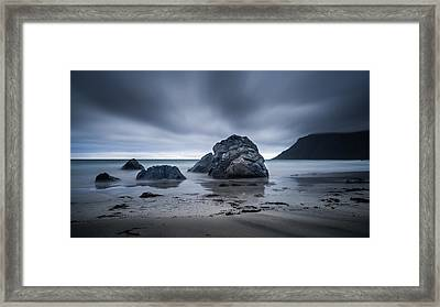 Flakstad Beach Framed Print