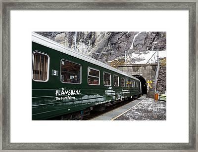 Flam Railway Framed Print