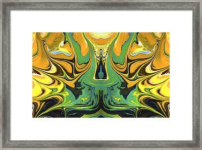 Flambuoyant Framed Print by Sumit Mehndiratta