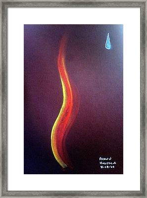 Flame Of Ra Framed Print