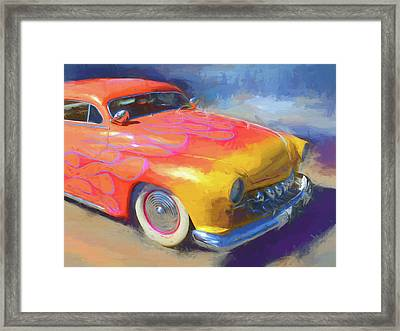 Flamed Mercury Framed Print