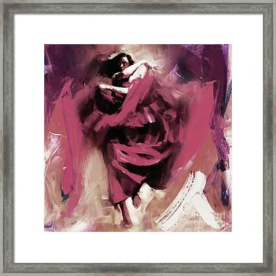 Flamenco 0321w Framed Print