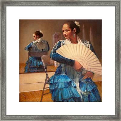 Flamenco 1 Framed Print by Donelli  DiMaria