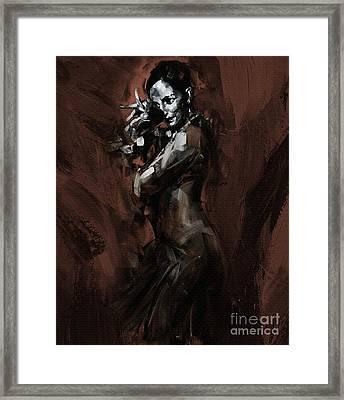 Flamenco 905 Framed Print