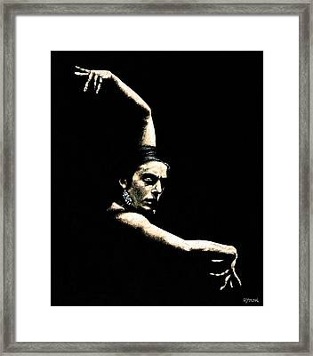 Flamenco Arms Framed Print by Richard Young