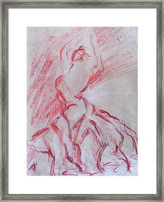 Flamenco Dancer 1 Framed Print