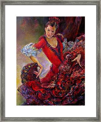 Flamenco Dancer 10 Framed Print