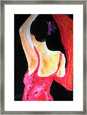 Flamenco Evening Framed Print by Keith Thue