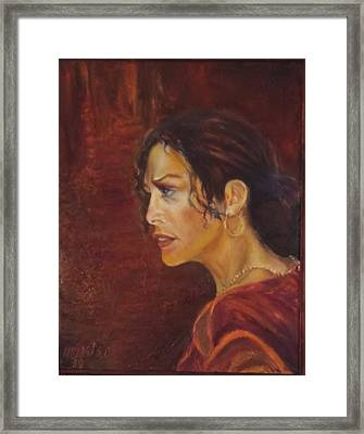 Flamenco Girl 1 Framed Print