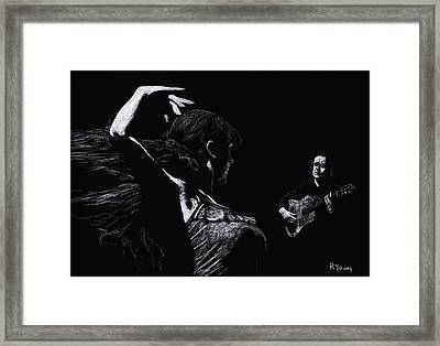 Flamenco Recital Framed Print