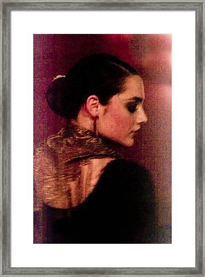 Flamenco Series 17 Framed Print by Catherine Sobredo