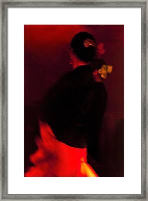 Flamenco Series 25 Framed Print by Catherine Sobredo