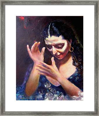 Flamenco Soul Framed Print