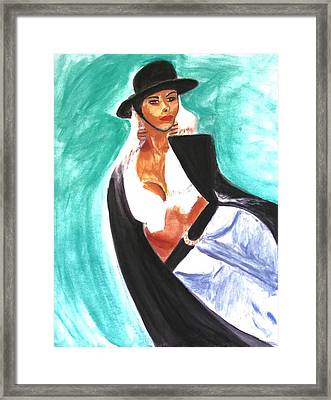Flamenco Framed Print by Stanley Morganstein