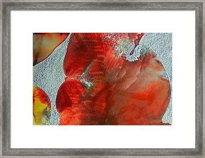 Flames Framed Print by Kruti Shah