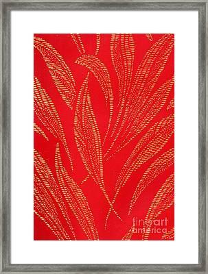 Flamework Framed Print