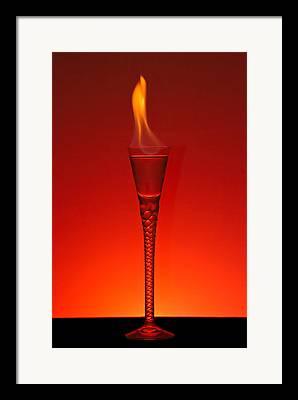 Absinthe Cocktails Framed Prints
