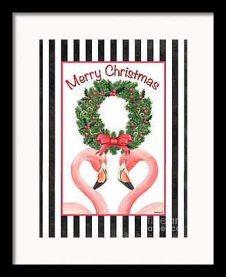 Christmas Decorations Framed Prints