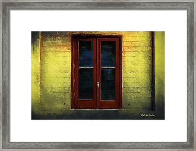 Flamingo House Framed Print