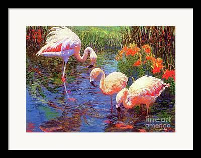 Tangerine Paintings Framed Prints