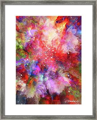 Flammable Imagination  Framed Print