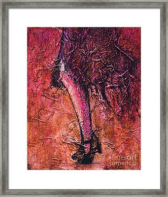 Flapper Framed Print