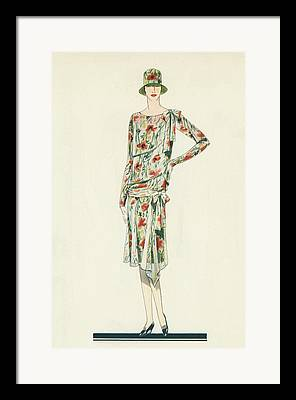Fashion Designer Art Framed Prints