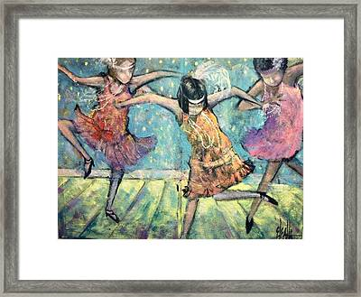 Flappers Framed Print