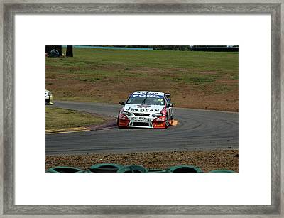 Flare Framed Print by Cheryl Hall