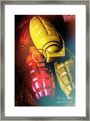 Flare The Explosive Shakeup Framed Print