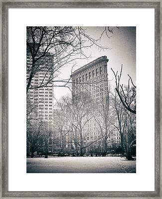 Flatiron District Framed Print by Jessica Jenney