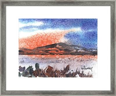 Flathead Lake Montana Framed Print by Kevin Heaney