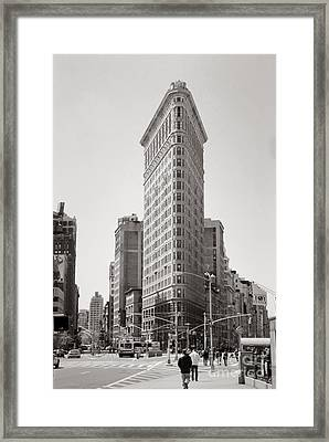 Flatiron #2 Framed Print by Lionel F Stevenson
