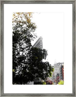 Flatiron Autumn  Framed Print by Nicklas Gustafsson