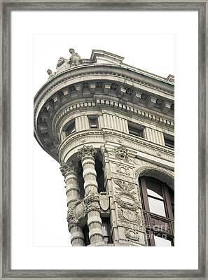 Flatiron Building Detail Framed Print by David Bearden