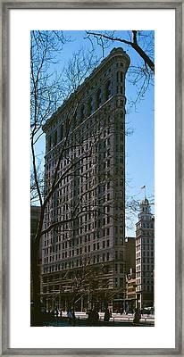 Flatiron Building Manhattan New York Framed Print by Panoramic Images