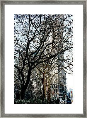 Flatiron Building Framed Print