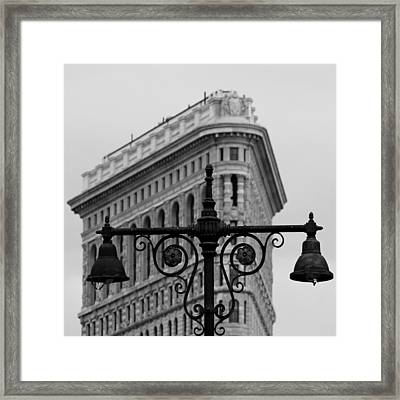 Flatiron Building New York Framed Print by Andrew Fare