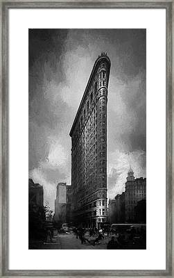 Flatiron Ch  Framed Print by Marvin Spates