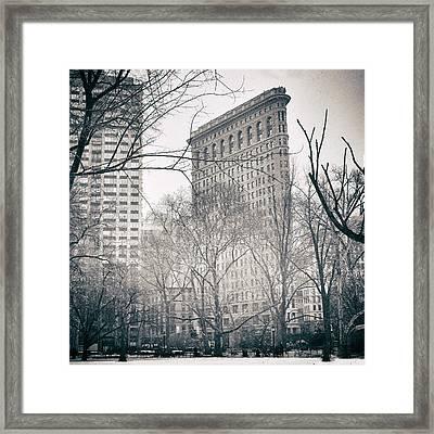 Flatiron District 2 Framed Print