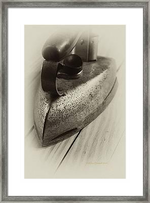Flatiron Framed Print by Wilma  Birdwell
