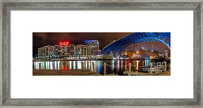 Flats East Bank Framed Print by Frank Cramer