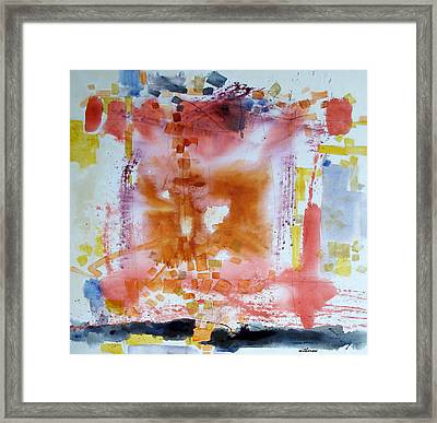 Flattery Framed Print by Dale  Witherow