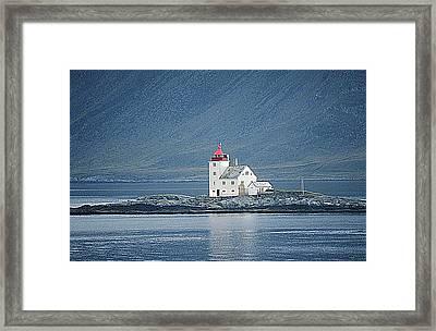 Flavar Lighthouse  Framed Print