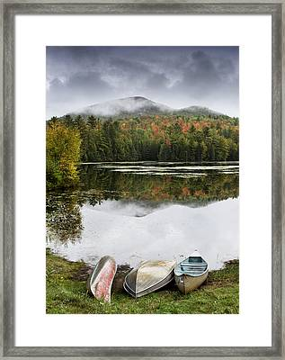 Flavor Of The Adirondacks Framed Print by Brendan Reals