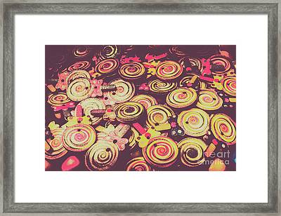 Flavours Of Yesterday Framed Print